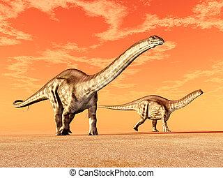 dinosaurio, apatosaurus