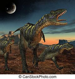 dinosaurio, aucasaurus-3d