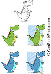 dinosaurio, characters-collection
