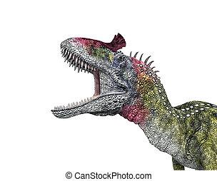 dinosaurio, cryolophosaurus
