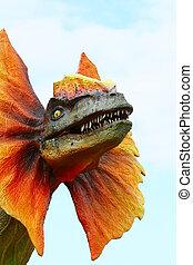 dinosaurio, dilophosaurus