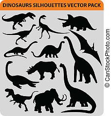 dinosaurio, paquete