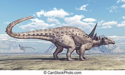 dinosaurio, sauropelta