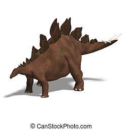dinosaurio, stegosaurus