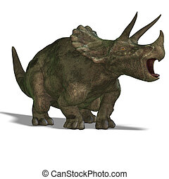 dinosaurio, triceratops