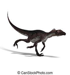 dinosaurio, utahraptor