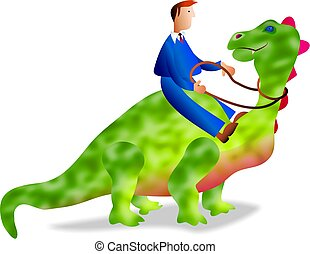 dinosauro, affari