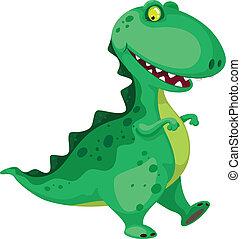 dinosauro, andare