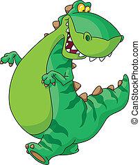dinosauro, camminare