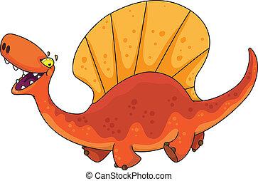 dinosauro, dimetrodon