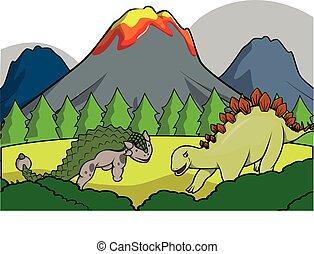 dinosaurus, gruppo