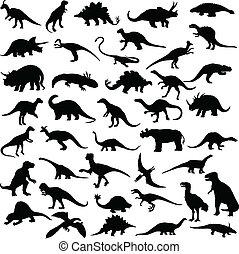 dinosaurus, reptiler