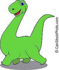 dinosaurussen, spotprent