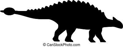 dinossauro, ankylosaurus