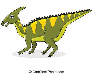 dinossauro, caricatura