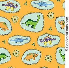 dinossauro, fundo