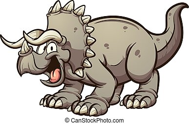 dinossauro, triceratops