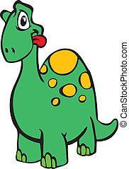 dinoszaurusz, boldog