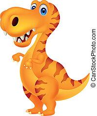 dinoszaurusz, karikatúra