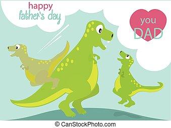 dinozaury, ojcuje dniowi