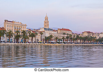 Diocletian palace in Split, Croatia - architecture travel...