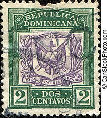 Dios, Patria, Libertad - REPUBLICA DOMINICA - CIRCA 1901: A ...