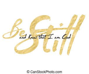 dios, todavía, ser, saber