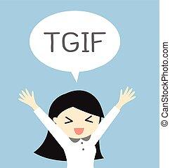 dios, viernes, agradecer, es