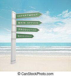 dipartimento, indicazione, ufficio