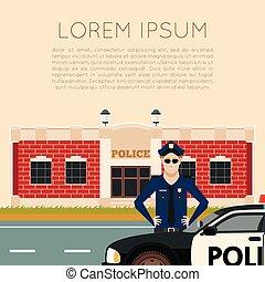 dipartimento, polizia, banner5