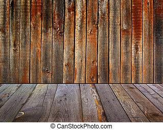 dipinto, tessuto legno