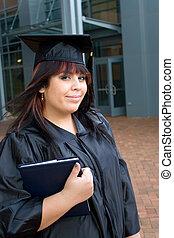 diplômé, à, a, diplôme