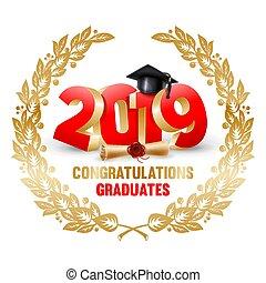 diplômés, félicitations