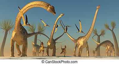 Diplodocus Dinosaur Journey
