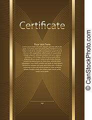 diploma, certificado