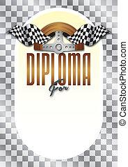 Diploma, Certificate for the winner - Diploma, Certificate...