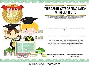 Diploma Certificate Template