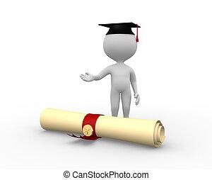 diploma, graduação