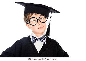 diploma, ragazzo