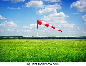 direção, vento