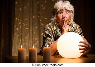 dire, fortuna, palla, magia