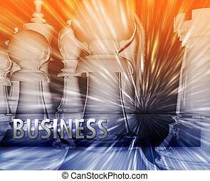 dirección, empresa / negocio, themed, resumen, ilustración, ...