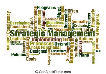 dirección, estratégico