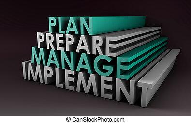 dirección, planificación