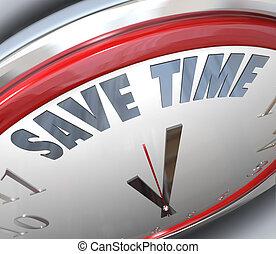 dirección, reloj, consejo, eficiencia, tiempo, puntas,...