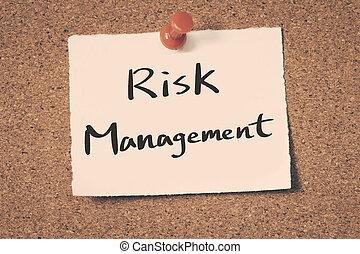 dirección, riesgo