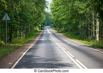 Direct forest highway without transport