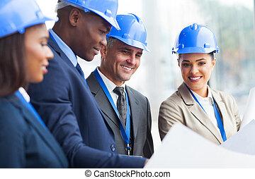 directeur, construction, personne agee, fonctionnement, équipe