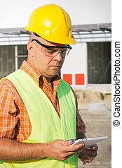 directeur, construction