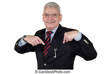 directeur supérieur, clã©, pointage